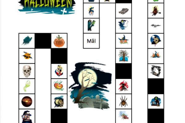 Halloween - Spilleplade