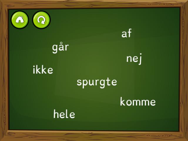 Øv dig på 120 af de hyppigste danske ord