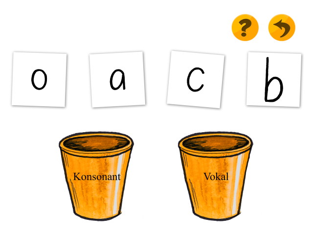 Identificer bogstaver