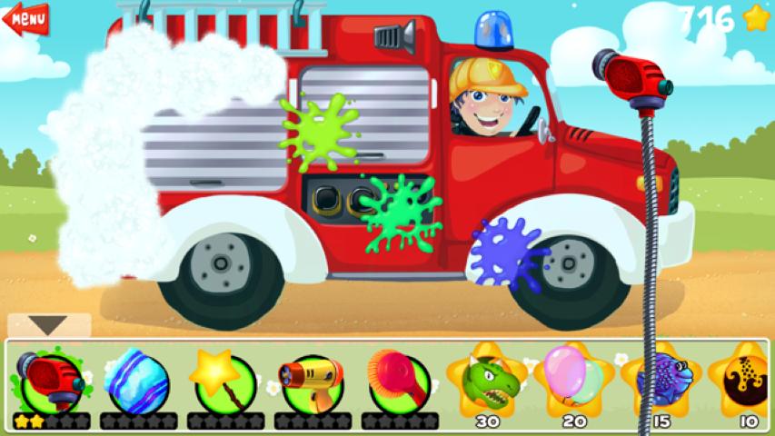Anmeldelse af app Car Wash