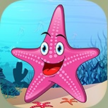 App dyr i havet peekaboo
