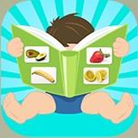 App frugt og ikon
