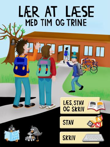 Anmeldelse af Lær at læse med Tim og Trine