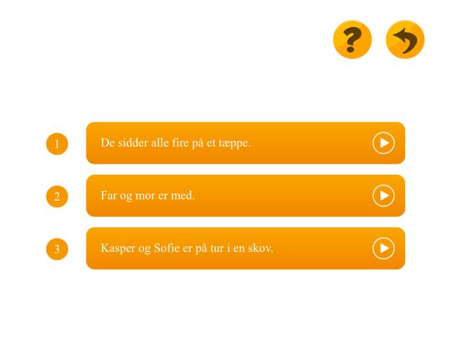 Sæt sætningerne i den rigtige rækkefølge