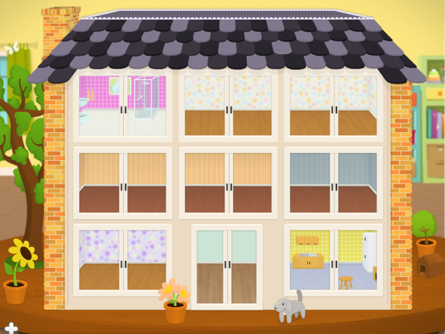 Mit hus med ni værelser