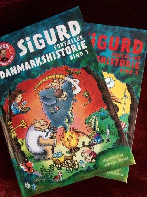 Sigurd fortæller danmarkshistorie i to bind