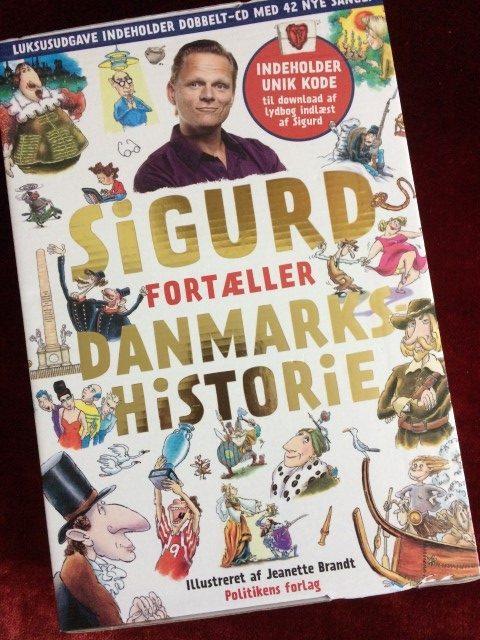 Sigurd fortæller danmarkshistorie - Anmeldelse
