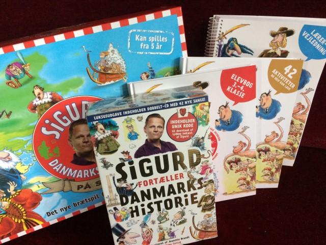 Sigurds Danmarkshistorie - Læs hele min anmeldelse