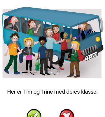 Læsning og stavning med Tim og Trine på tur