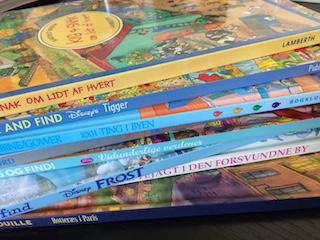 Søg og find-bøger som materiale til sprogstimulering