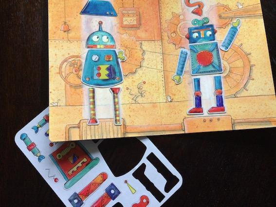 Magnetbøger - Robot
