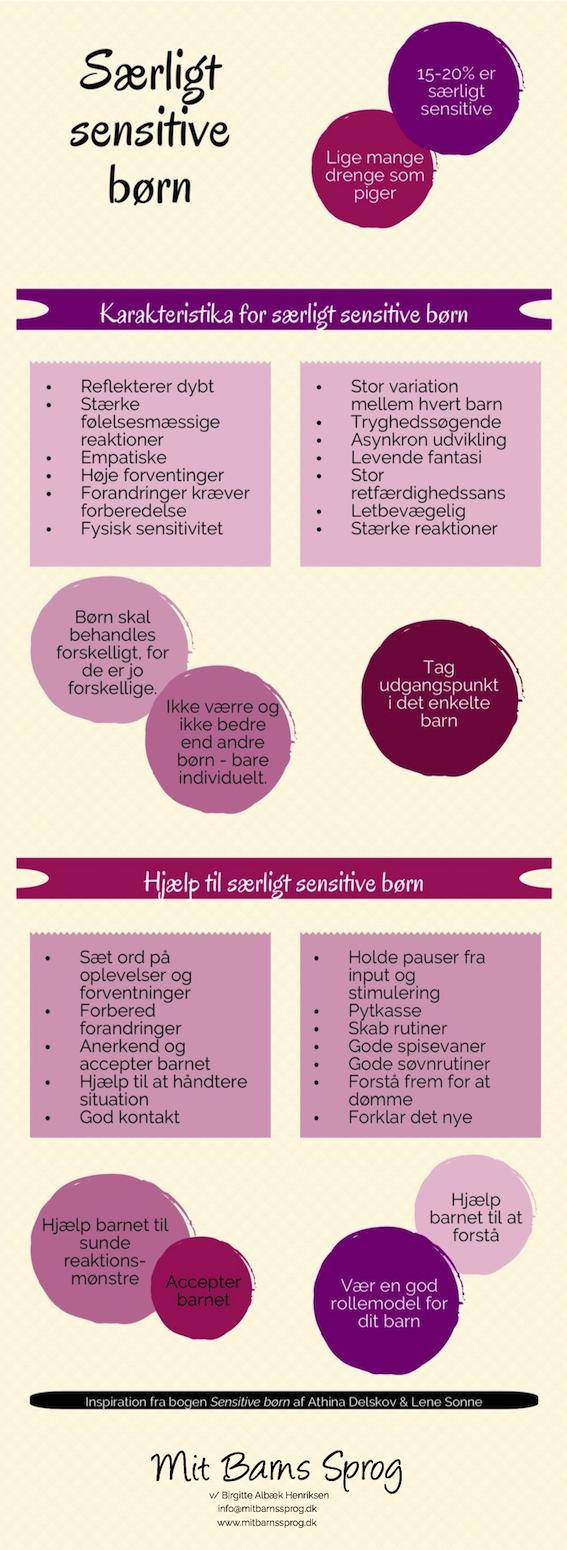 Kendetegn og råd til særligt sensitive børn
