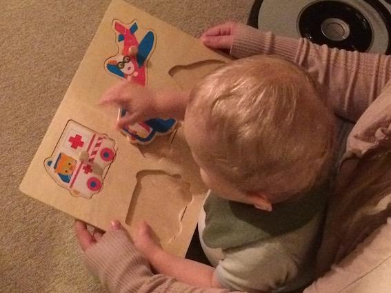 Træpuslespil fra Børnerummet