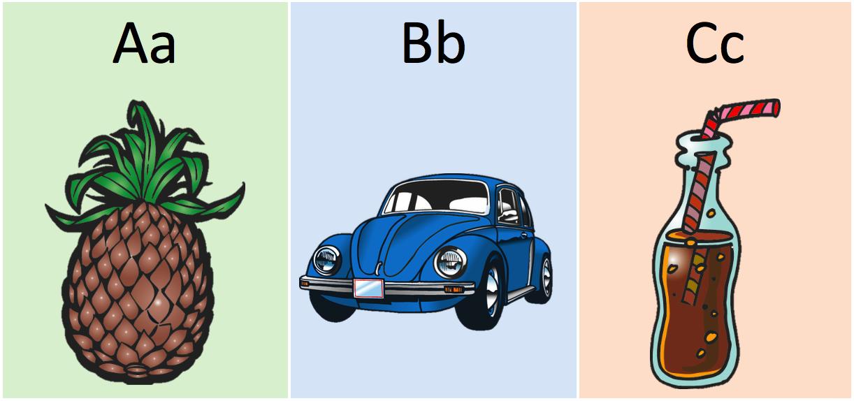 Lær alfabetet med børnene