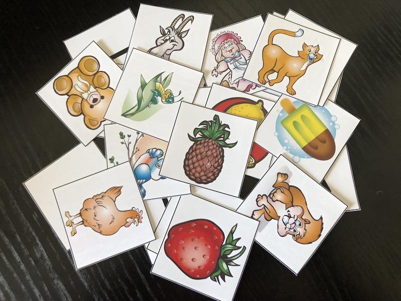Lær alfabetet med ABC-matchkort