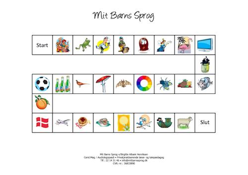 Brætspil til førskolebørn