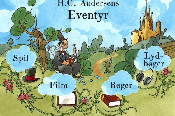 Læs gode eventyr af H.C. Andersen