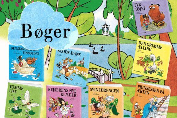 Flotte bøger med H.C. Andersens eventyr