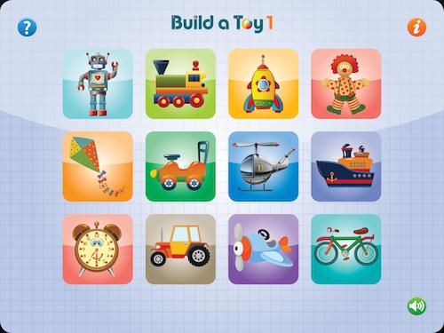 Hvilket legetøj vil du gerne bygge?