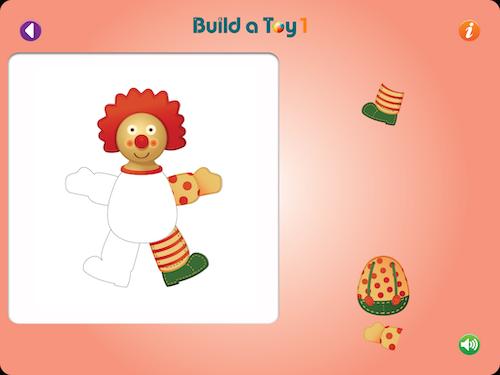 Byg legetøj sammen med barnet