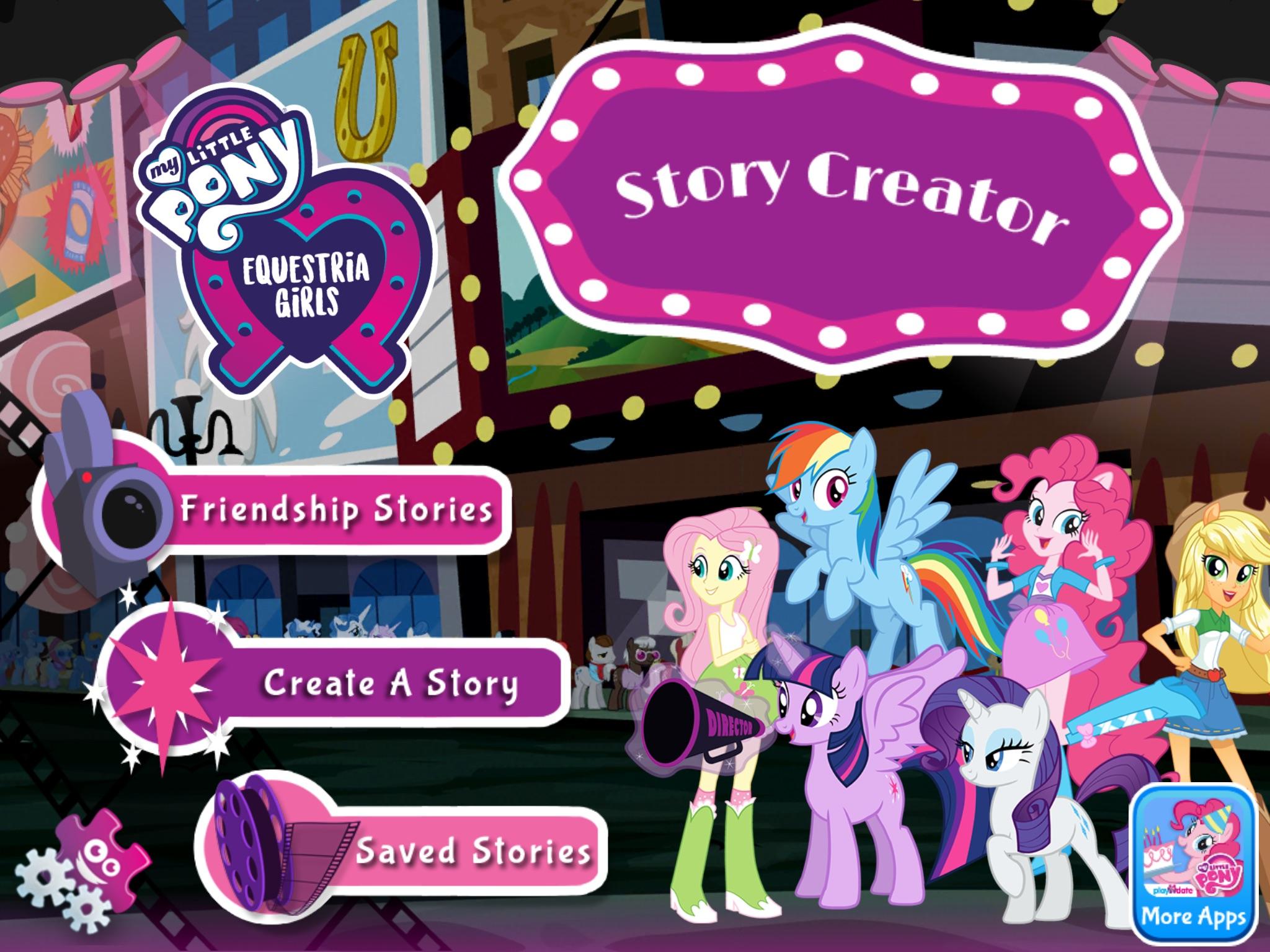 Lav historier med figurerne fra My Little Pony